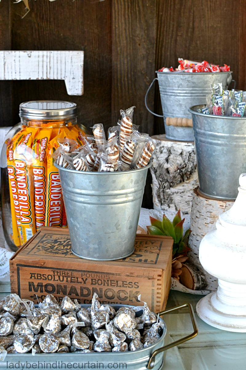 Candy Buffet Sign Ideas Home Interior Design Trends