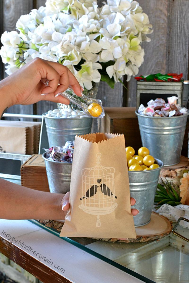 Brilliant Rustic Wedding Candy Buffet Home Interior And Landscaping Mentranervesignezvosmurscom