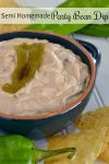 Semi Homemade Party Bean Dip