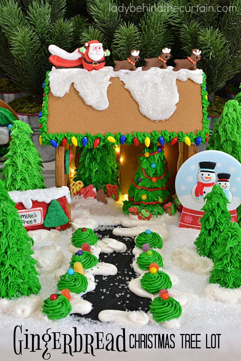 gingerbread christmas tree lot 13jpg - Gingerbread Christmas Tree