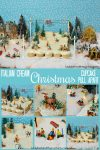 Italian Cream Christmas Cupcake Pull Apart