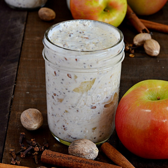 Spicy Apple Overnight Oatmeal