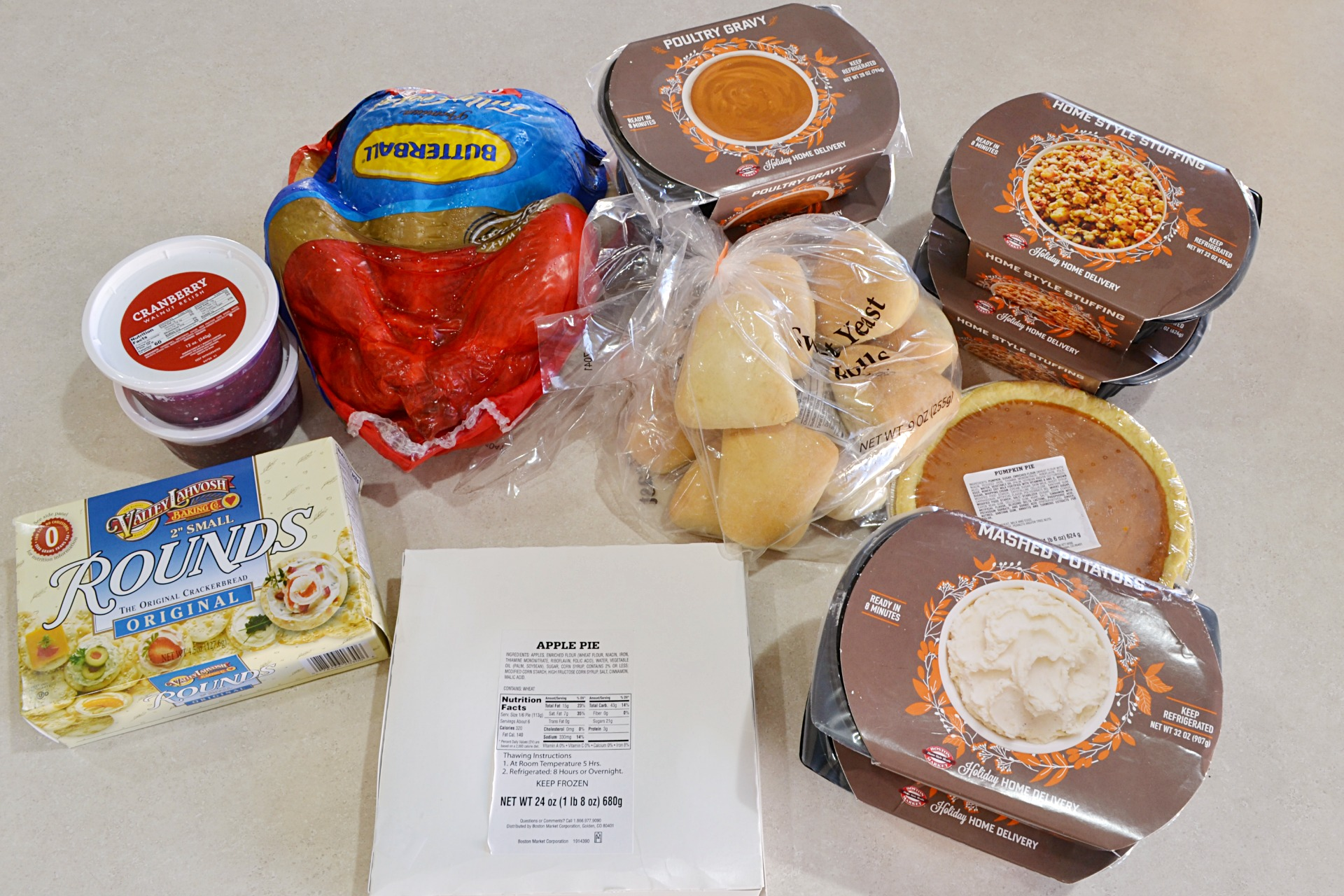You can also send a meal to friends and family through the Boston Market  Thanksgiving Home Delivery program.