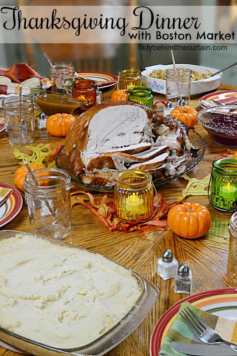 Thanksgiving Dinner With Boston Market
