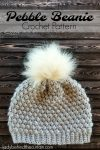 Pebble Beanie Crochet Pattern
