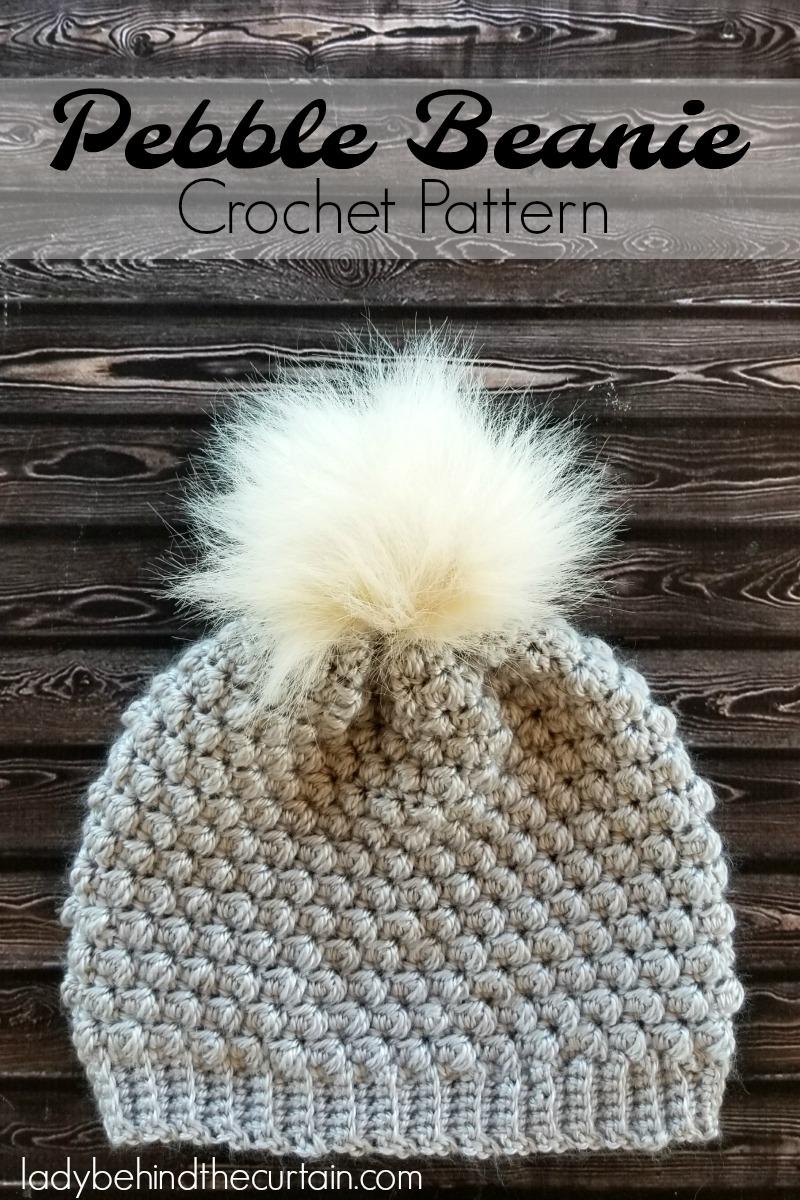 257c24eea3d Pebble Beanie Crochet Pattern