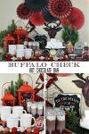 Buffalo Check Hot Chocolate Bar