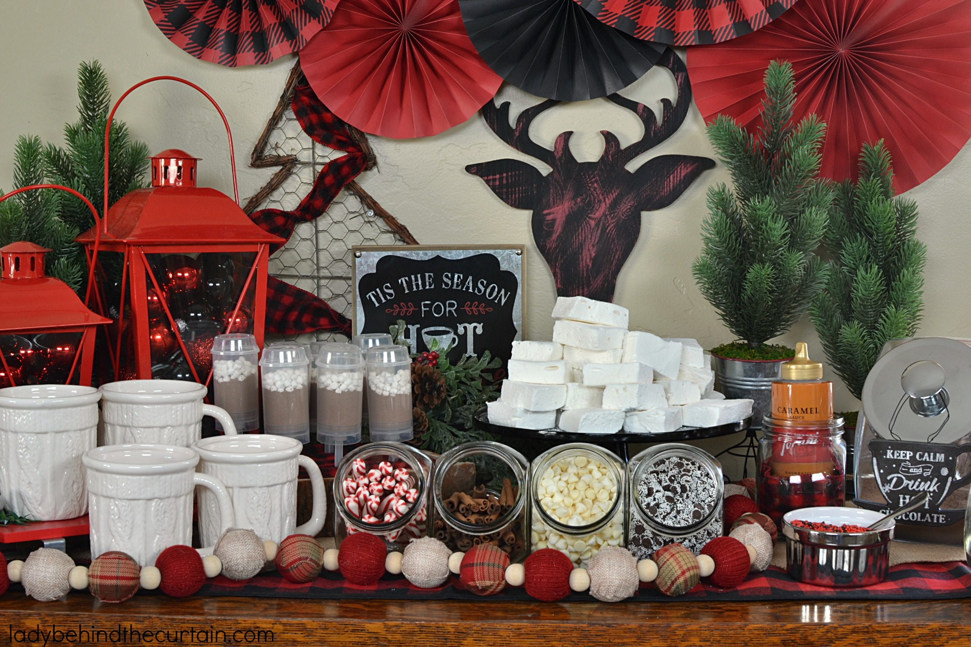 Buffalo Check Hot Chocolate Bar