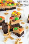 Peanut Butter Brownie Fudge
