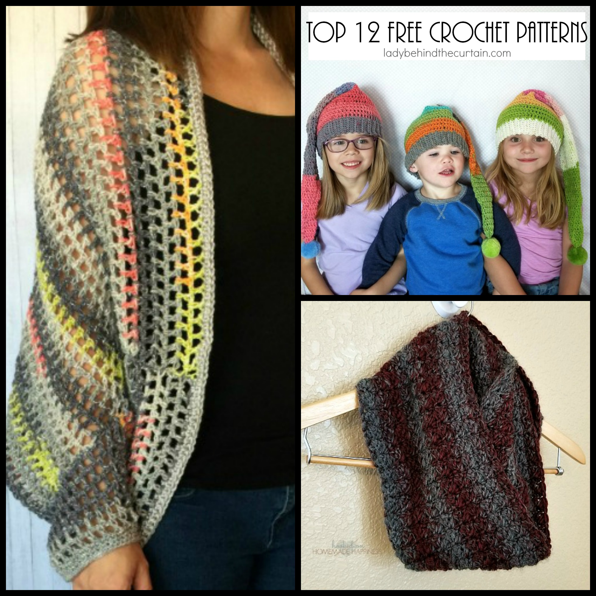 Top 12 Free Crochet Patterns