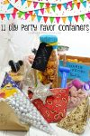 11 DIY Party Favor Containers