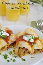 Chorizo Breakfast Enchiladas