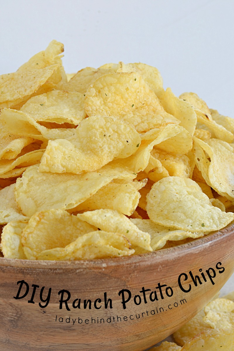 DIY Ranch Potato Chips