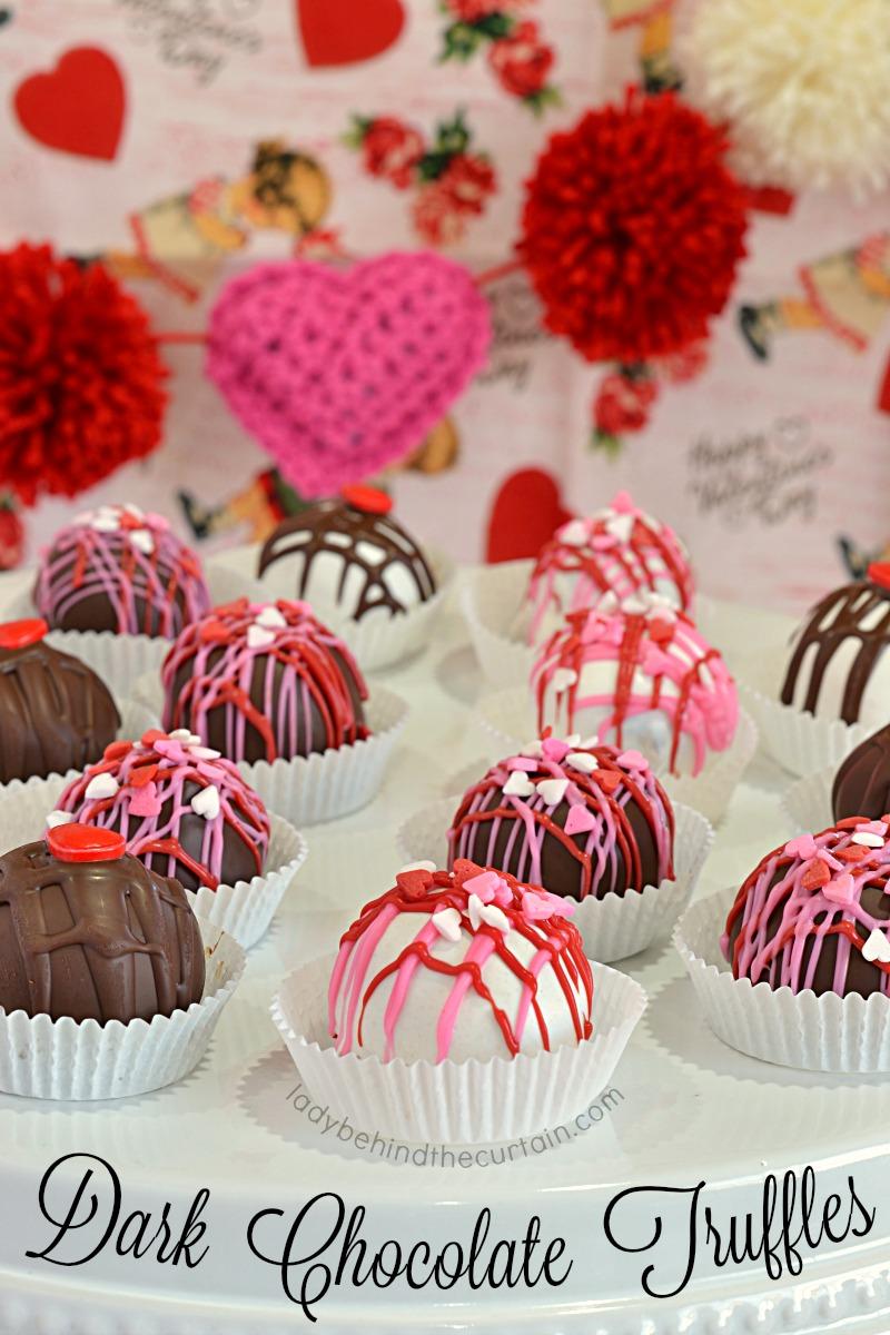 Dark Chocolate Truffle Recipe Valentine S Day Anniversary Dinner