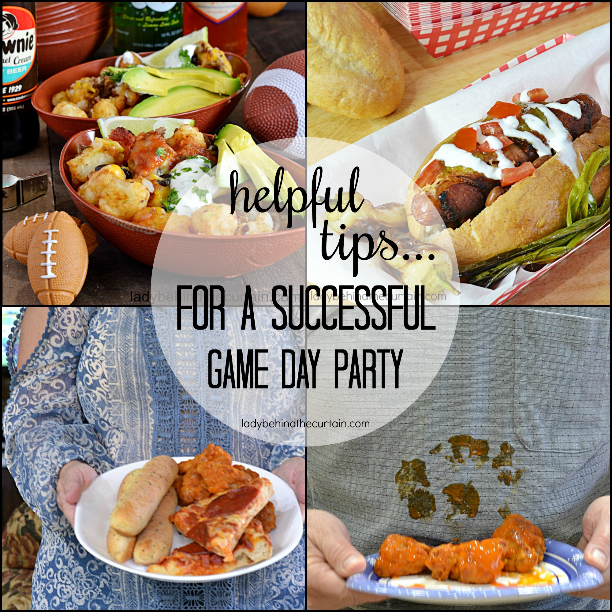 Helpful Tips for a Successful Game Day Party