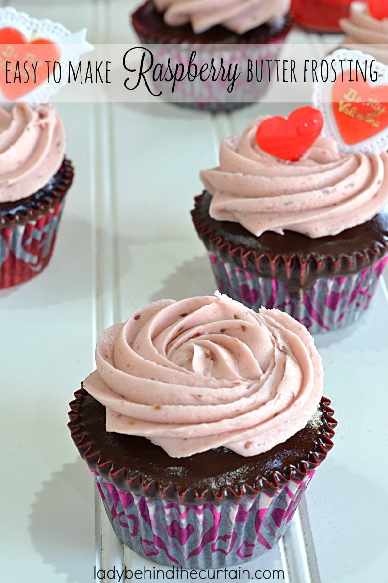 Easy To Make Raspberry Butter Frosting