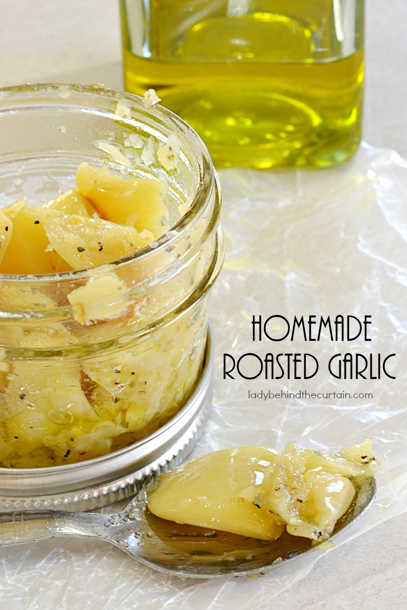Homemade Roasted Garlic