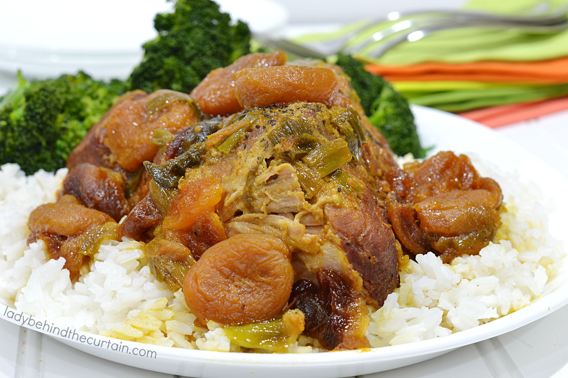Instant Pot Apricot Curry Pork Roast