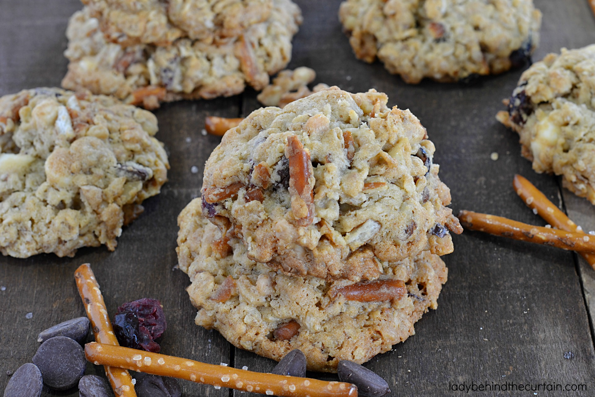 Oatmeal Trash Cookies