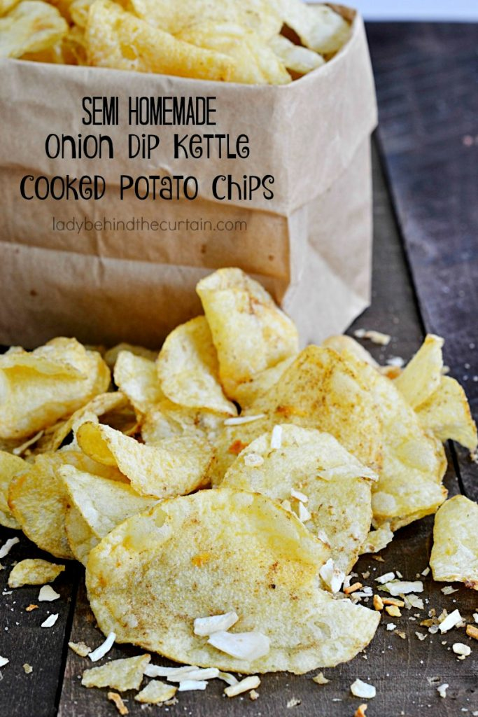 Semi Homemade Onion Dip Kettle Cooked Potato Chips