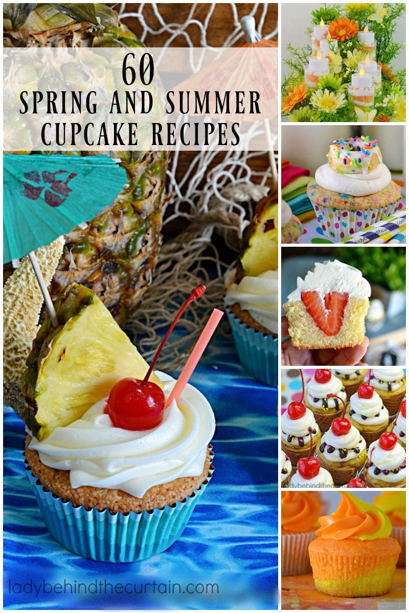 60 Spring and Summer Cupcake Recipes