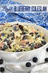 Light Blueberry Coleslaw