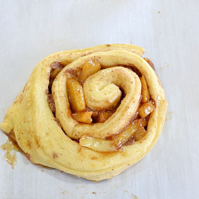 Semi Homemade Caramel Apple Cinnamon Rolls