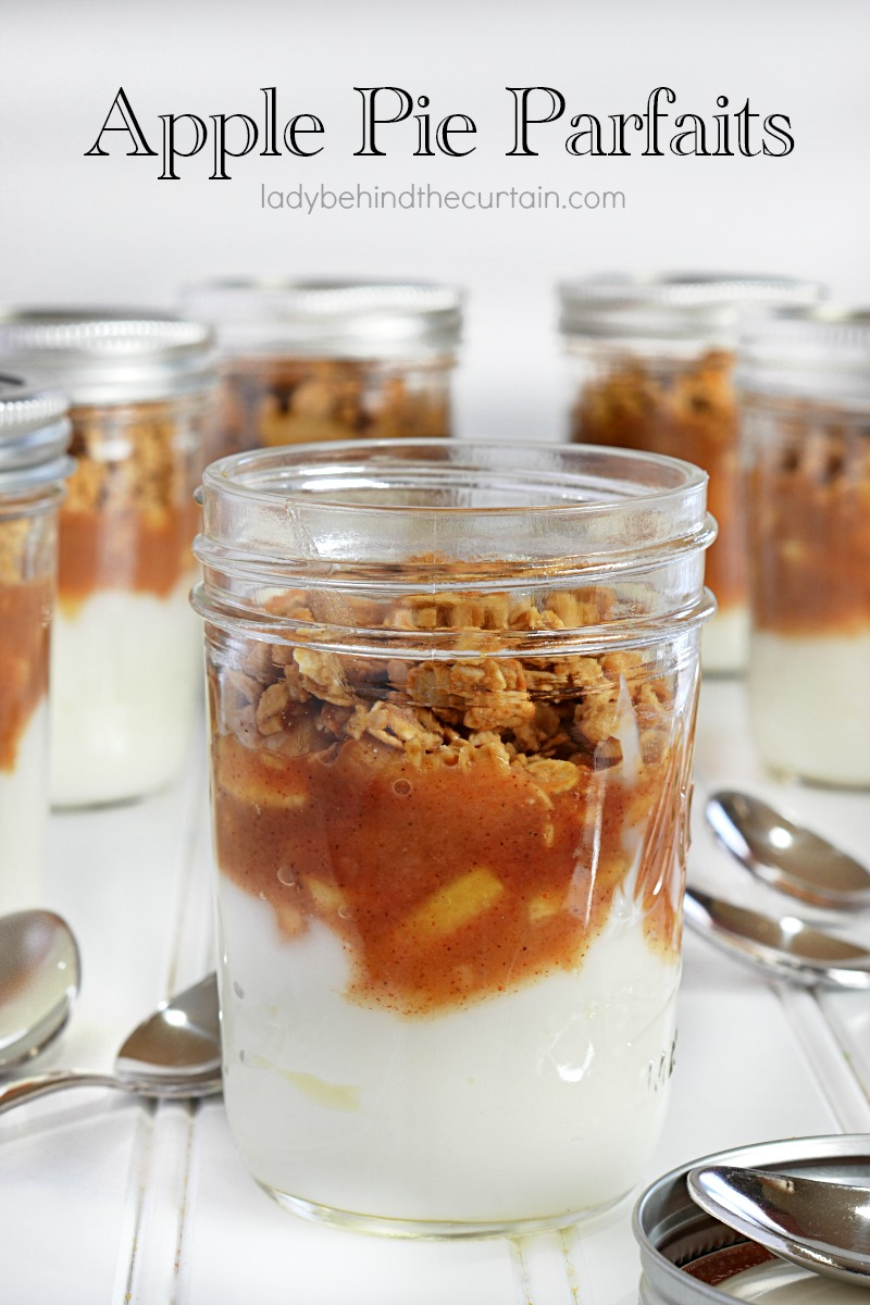 Apple Pie Parfaits