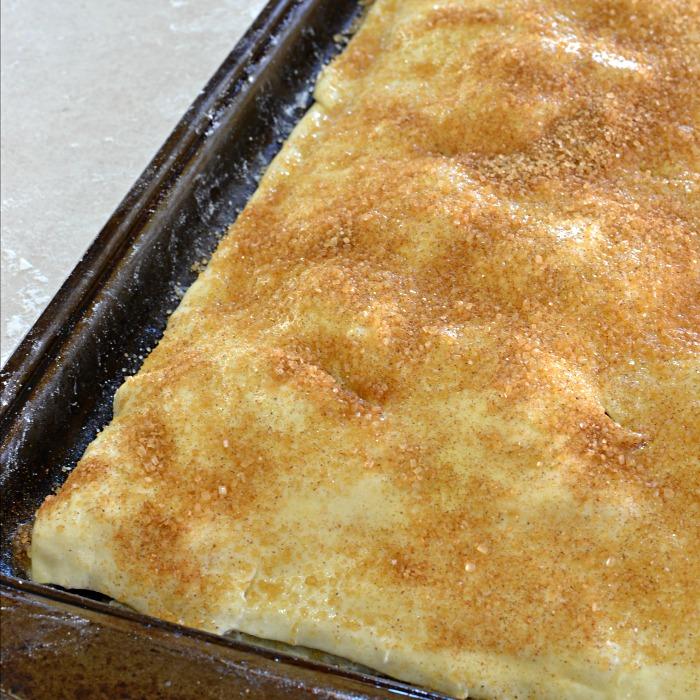 Apple Toffee Cheese Danish