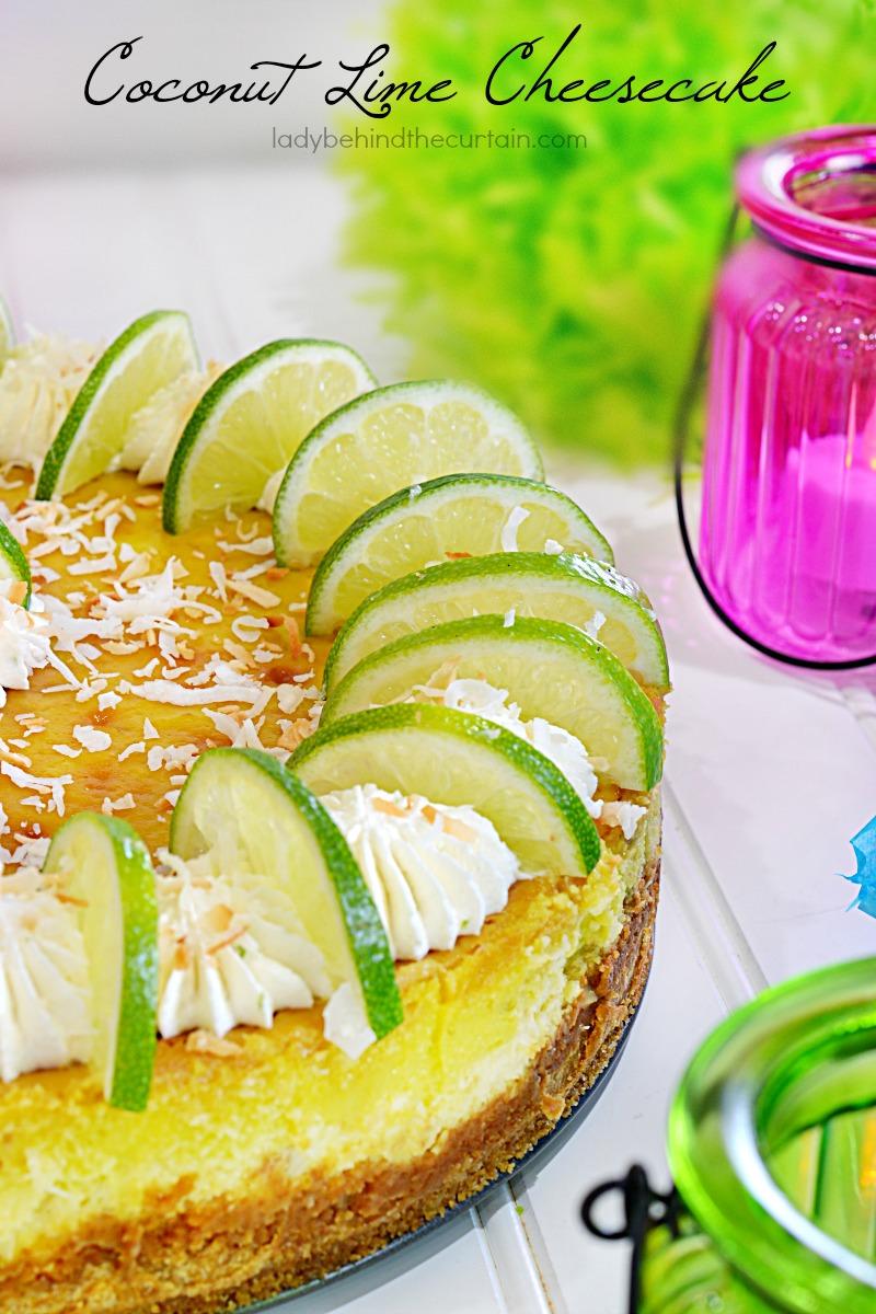 Coconut Lime Cheesecake Recipe