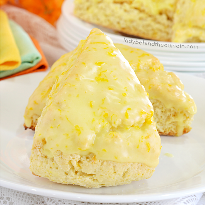 Copycat Panera Orange Scone Recipe