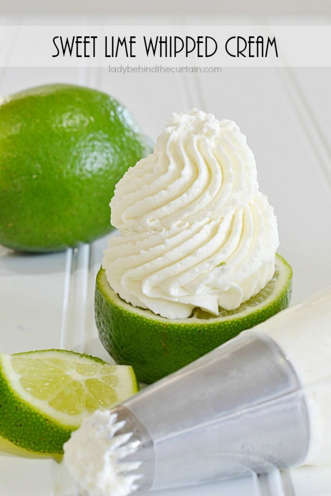 Sweet Lime Whipped Cream