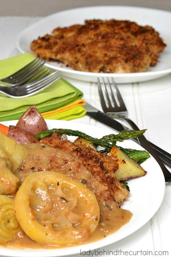 Artichoke Lemon Chicken Fillets