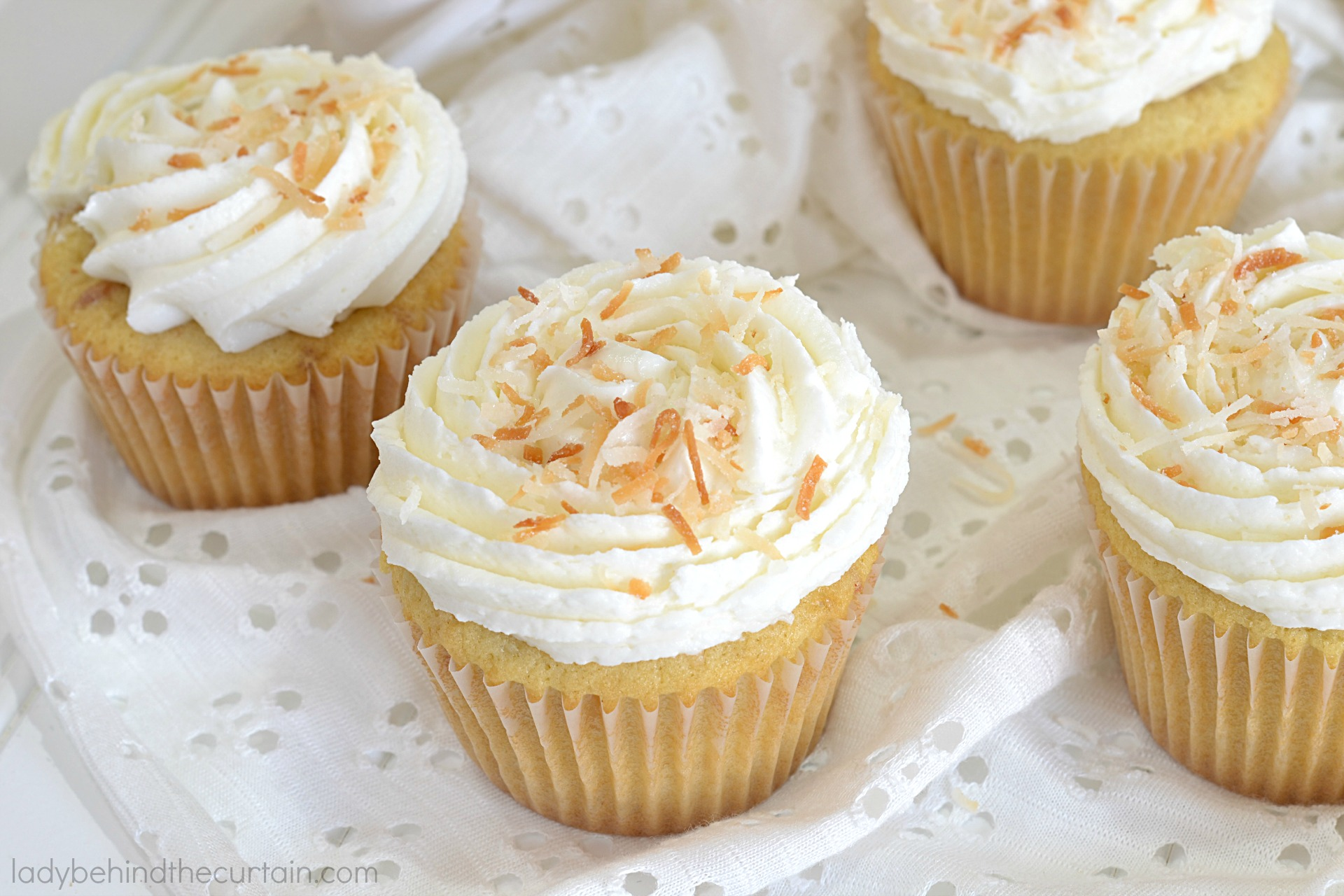 Old Fashioned Coconut Cupcakes