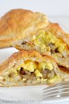 Sausage and Egg Breakfast Pockets