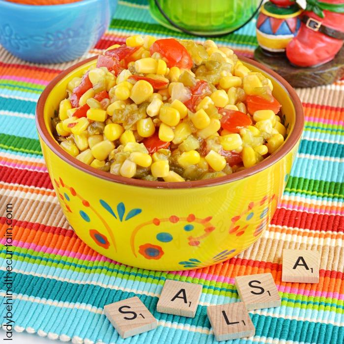 Semi Homemade Corn Salsa