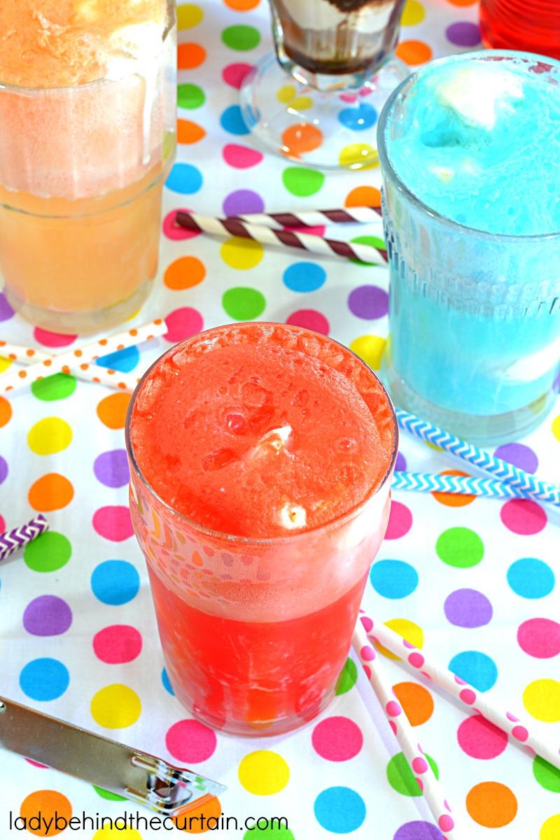 5 Easy to Make Soda Shop Floats