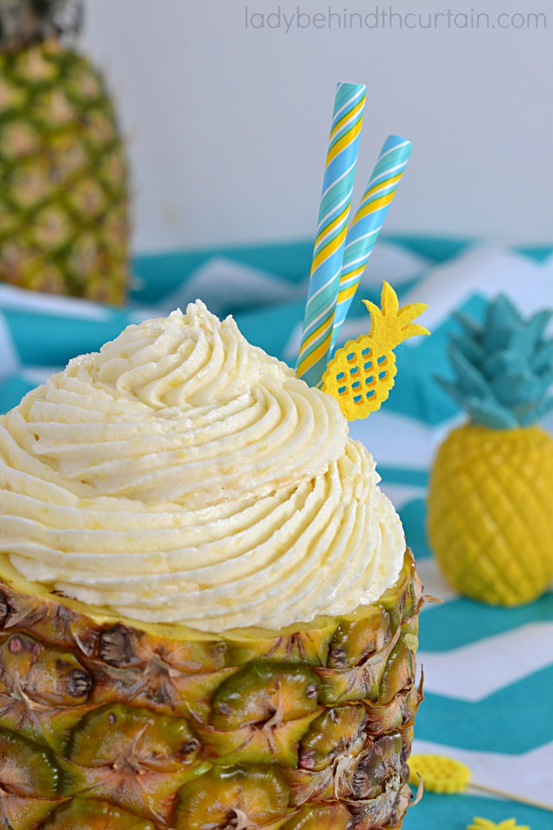 Dole Whip Pineapple Cream Cheese Butter Frosting Recipe
