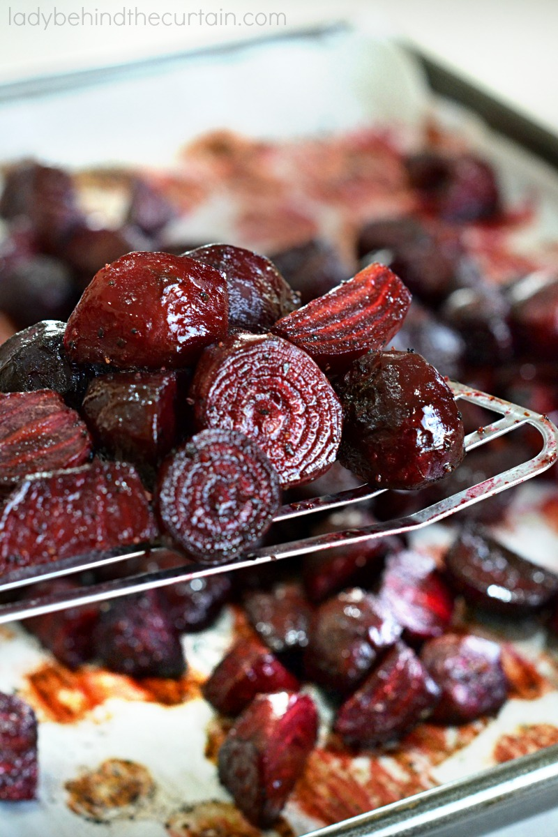 Fresh from the Garden Roasted Beets
