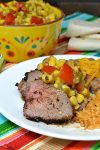 Grilled Peppered Tri Tip Roast