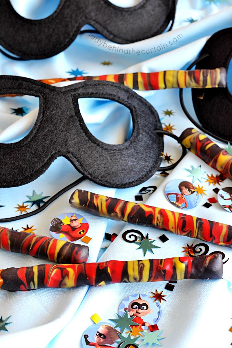 Incredibles 2 Party Pretzels