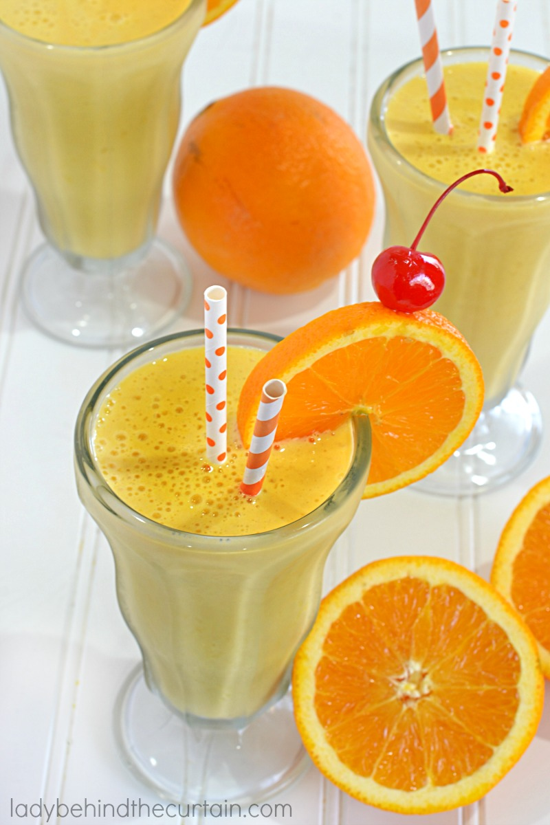 5 Minute Copycat Orange Julius Recipe