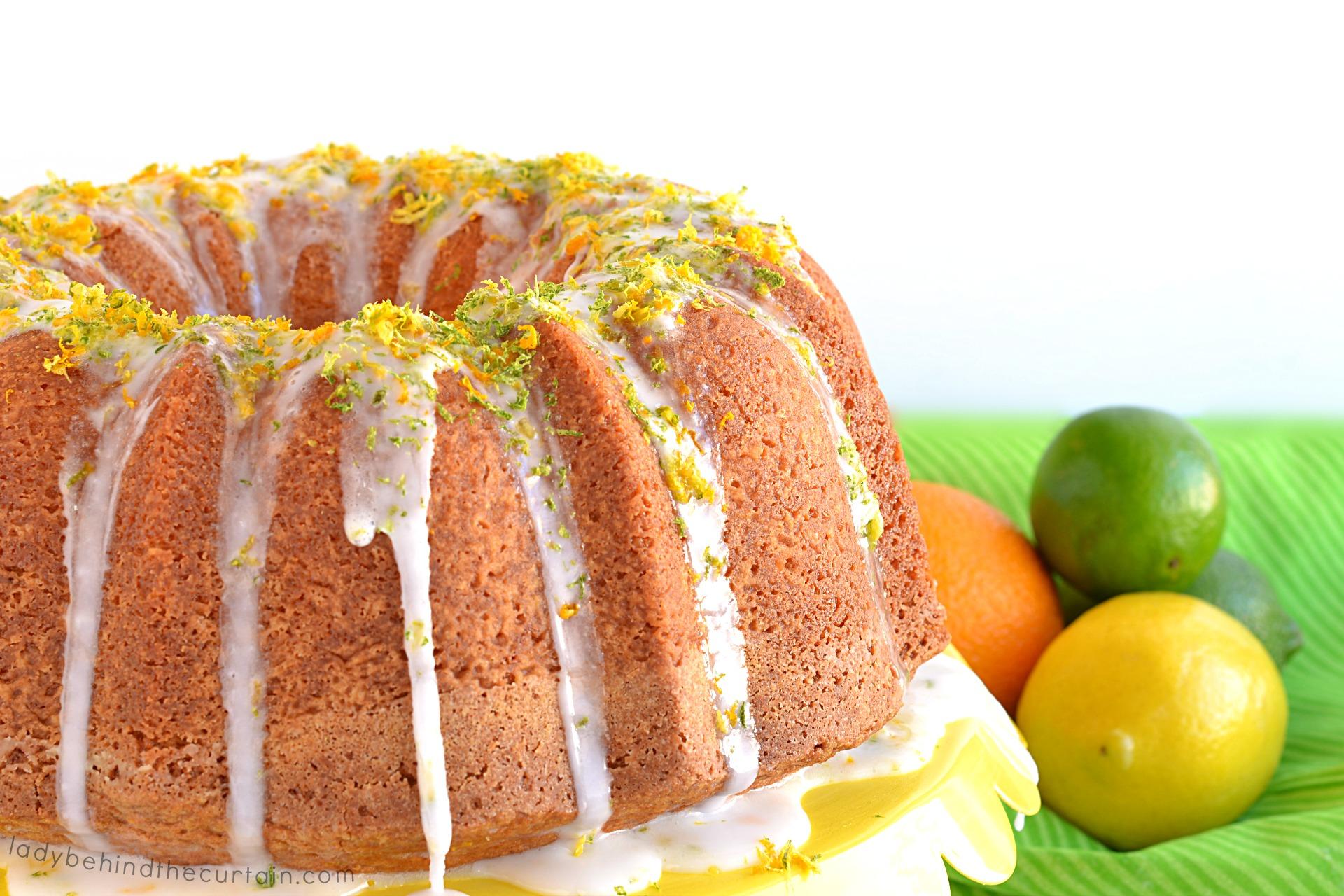 Citrus Vanilla Pound Cake