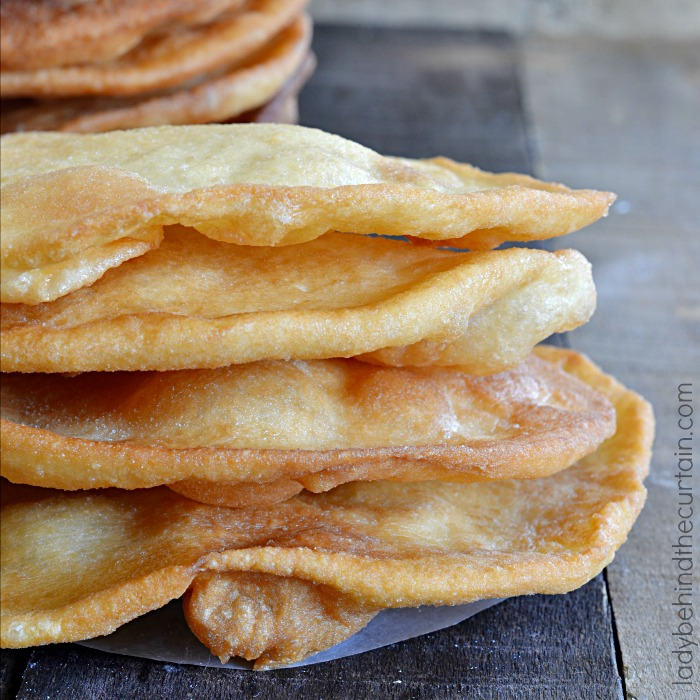 Semi Homemade Fried Flatbread