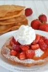 Strawberries and Cream Flatbread