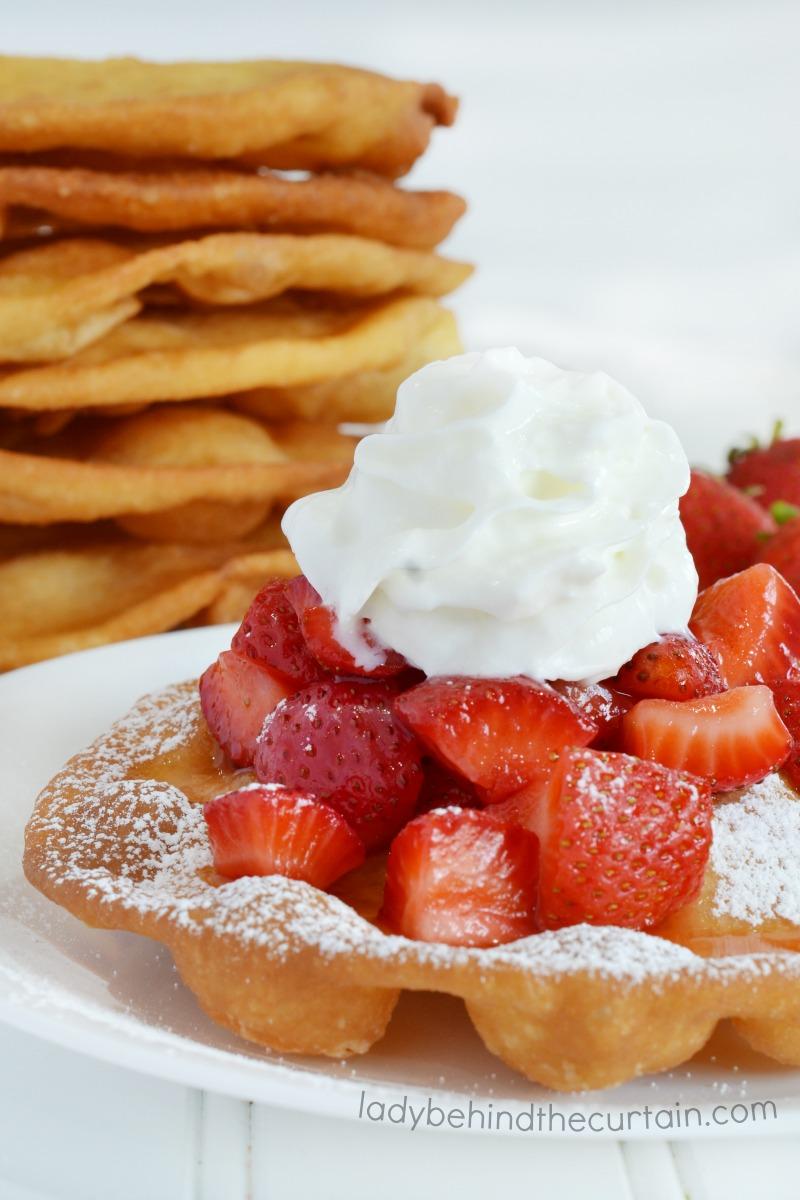 Strawberries and Cream Flatbread