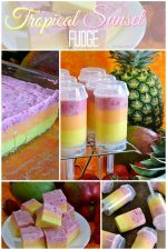 Tropical Sunset Fudge