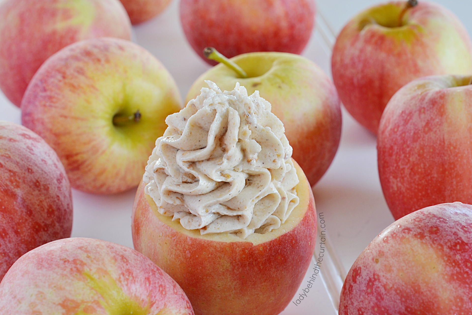 Apple Cinnamon Cream Cheese Butter Frosting