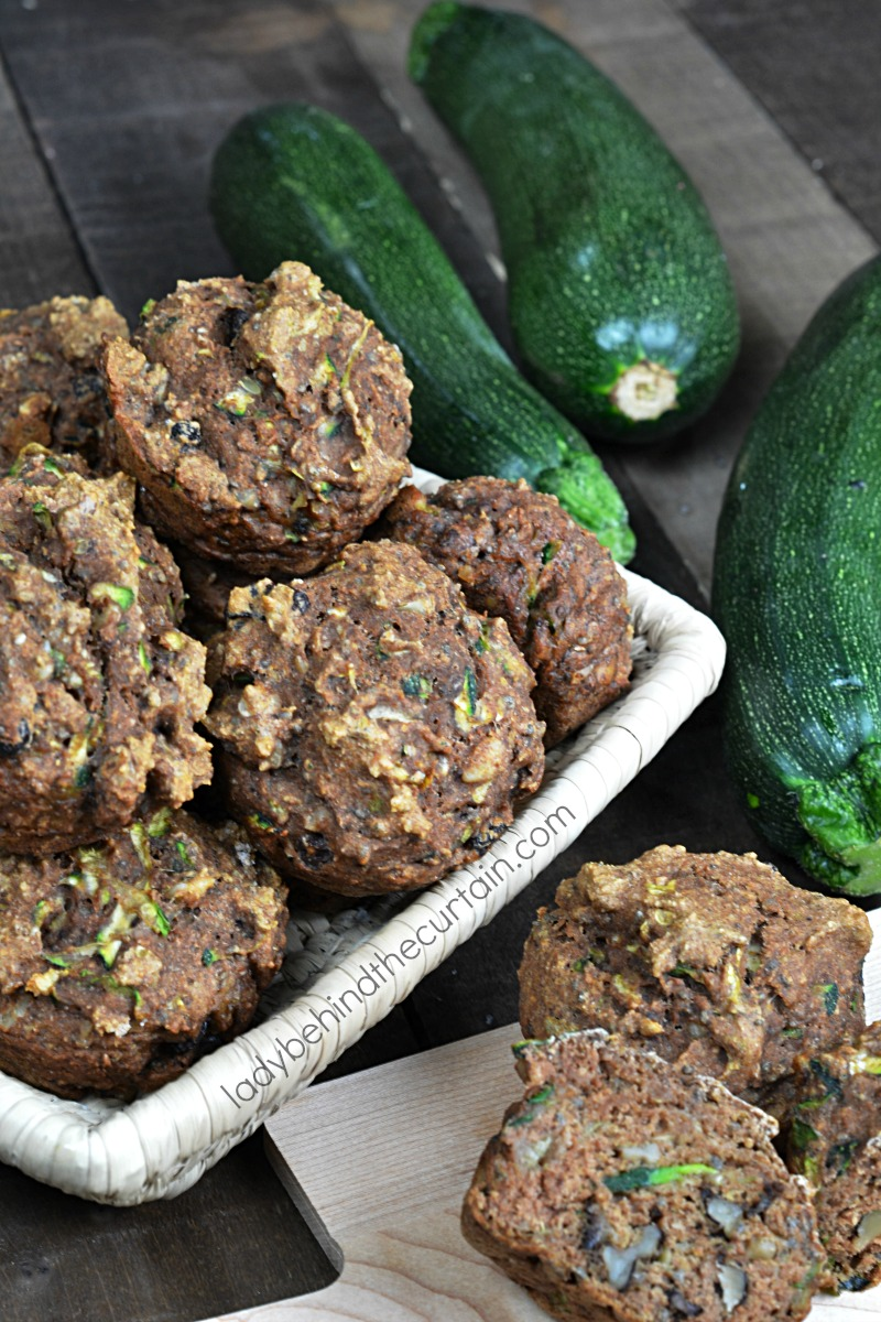 Low Fat Zucchini Muffins