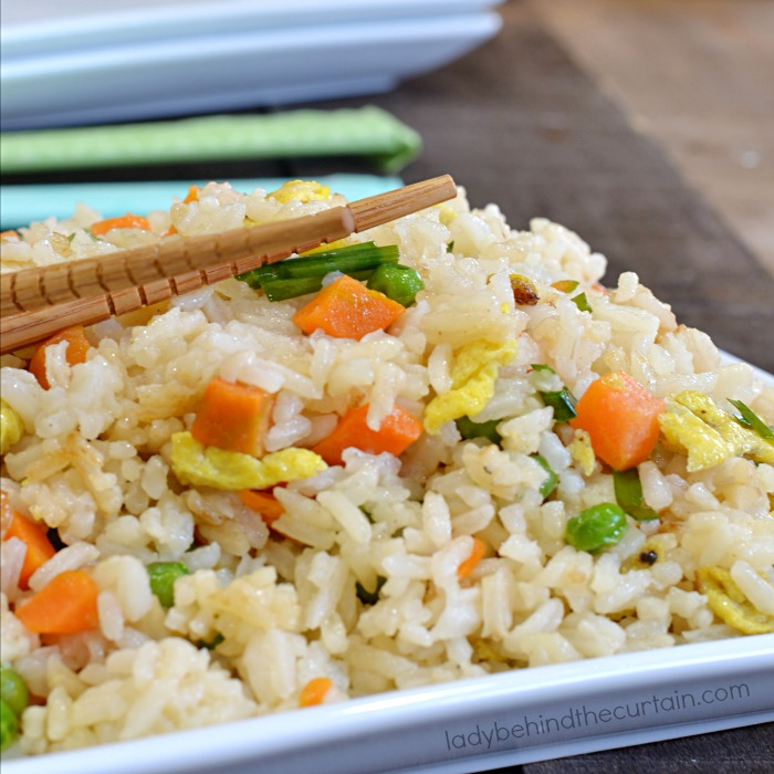 Quick and Easy Skillet Fried Rice